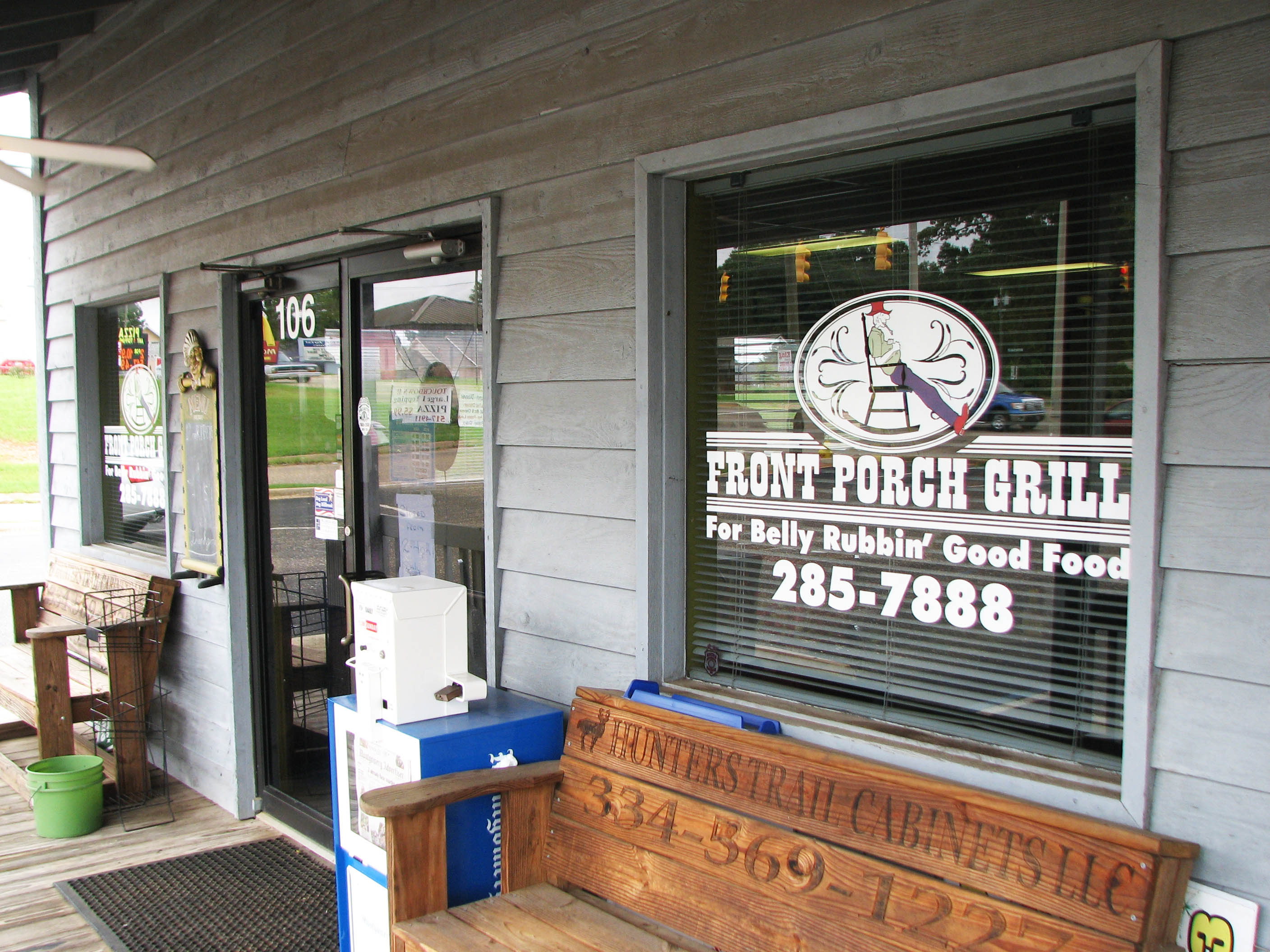 Front Porch Grill All Prattville Local Businesses
